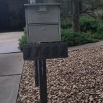 Decorative Mailbox Support