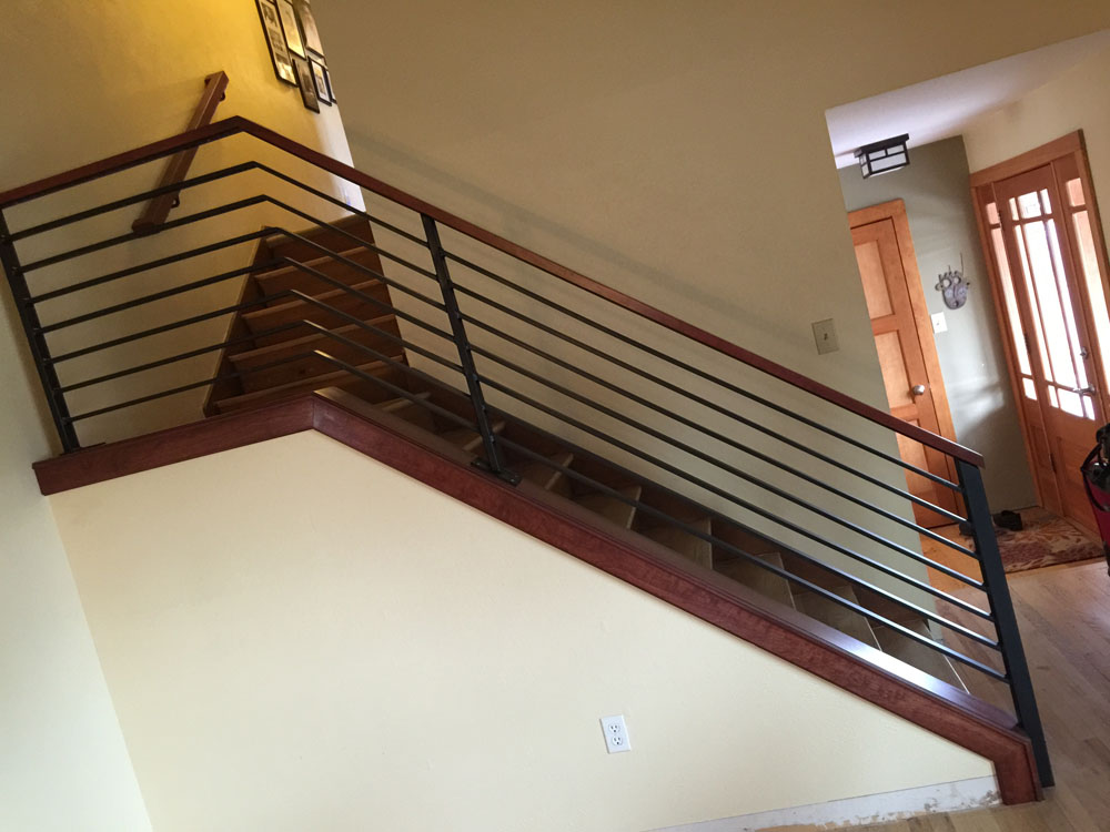 Railing with Wood Cap