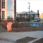 Exterior fence and handrails